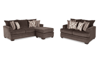 Miranda Chaise Sofa & Loveseat | Bob's Discount Furniture