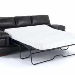 Leather Chair Bed Sleeper Massage Austin Carter Queen With Bob O Pedic Gel Memory Foam Gallery Slider Image 1