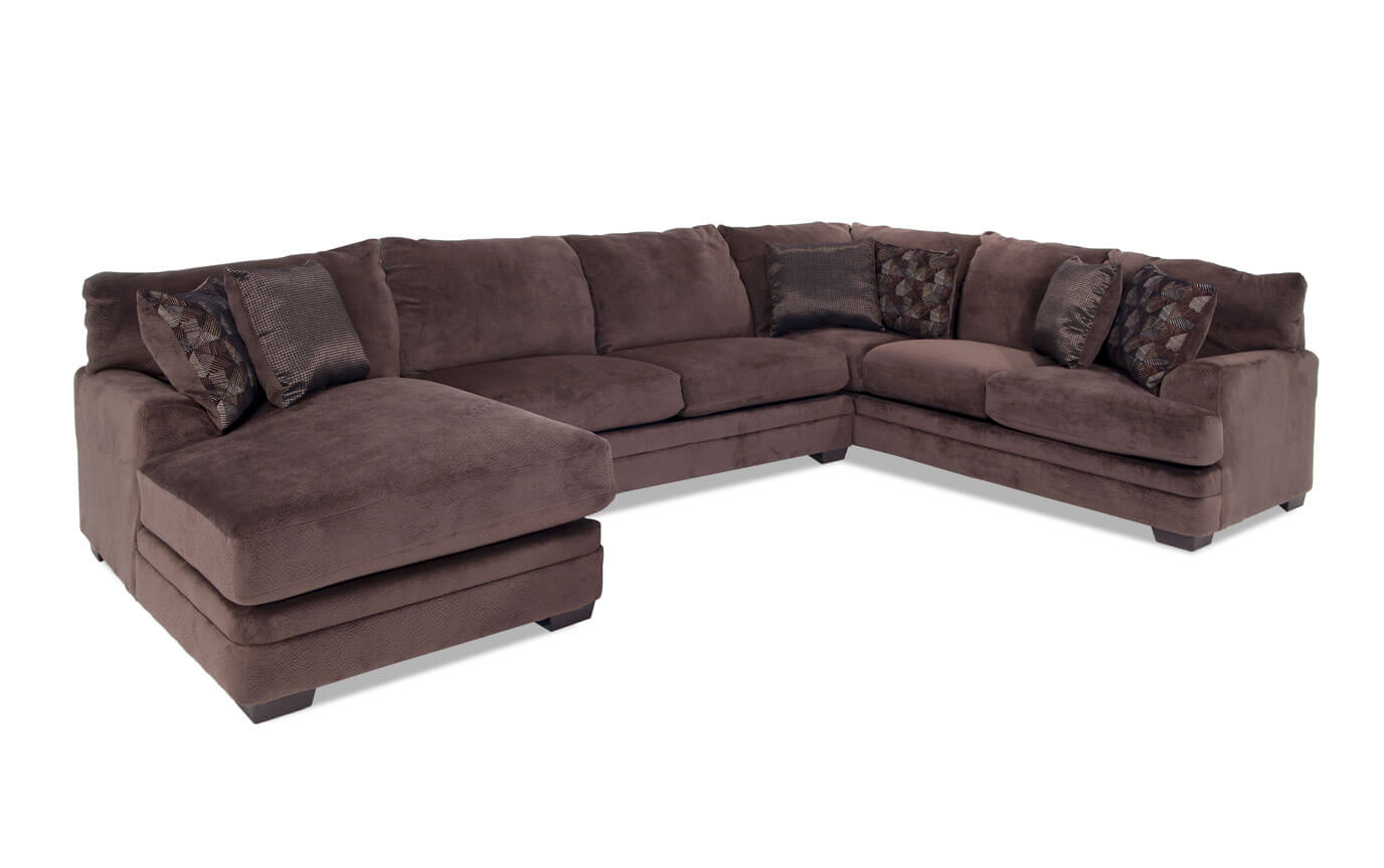 bobs miranda sofa reviews sleeper san antonio charisma 3 piece right arm facing sectional bob 39s