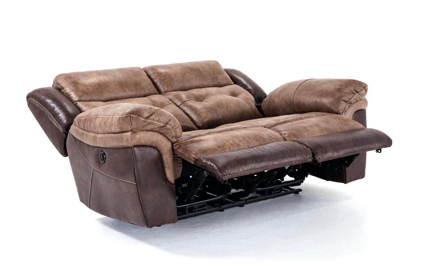 gladiator power dual reclining sofa reviews chaise longue cama vogue navigator loveseat bob 39s discount furniture