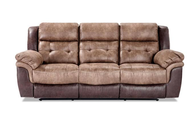 large sofa couch modern sectional sofas couches bobs com navigator manual reclining