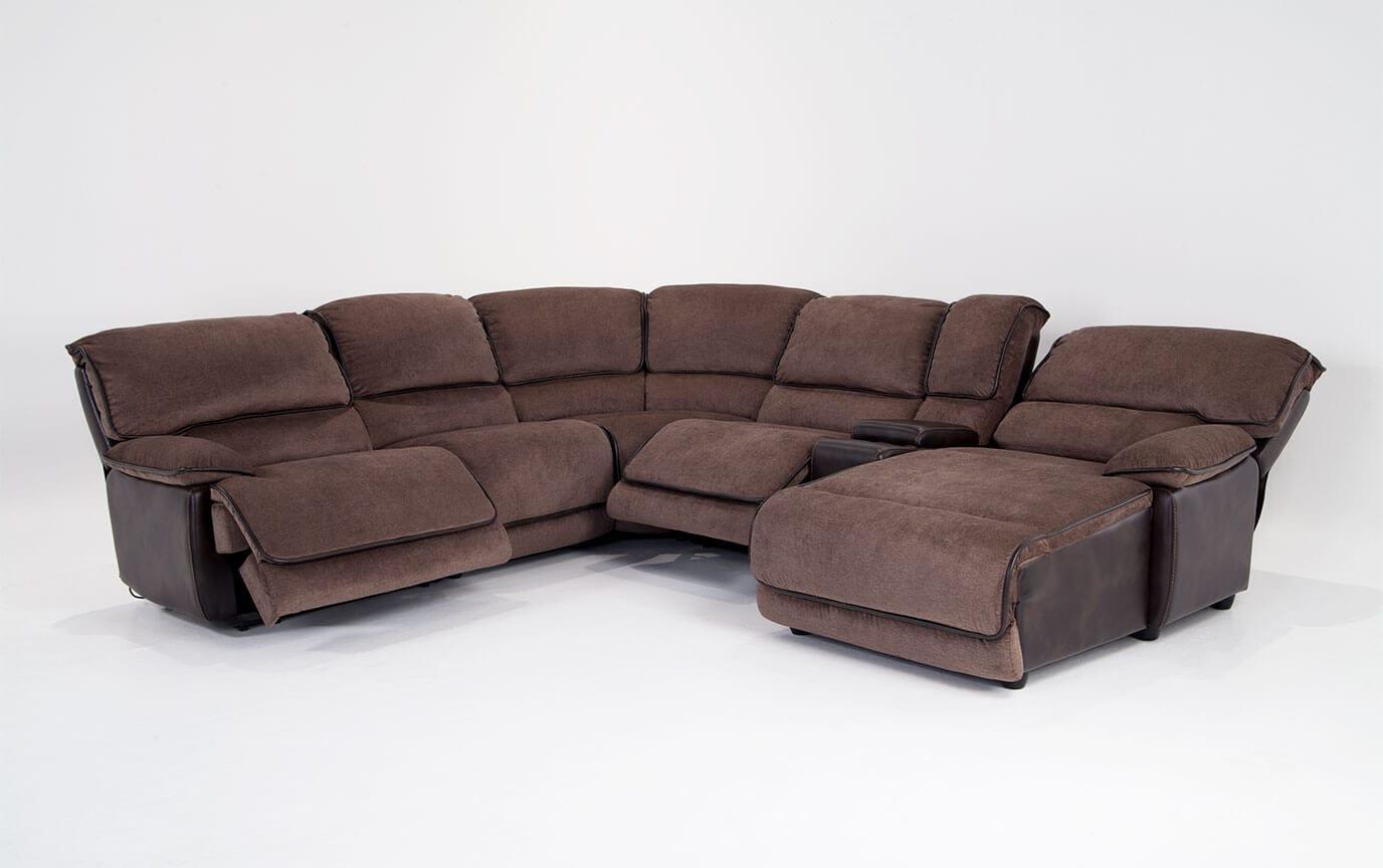 gladiator power dual reclining sofa reviews reception chairs dawson 6 piece left arm facing sectional bob 39s