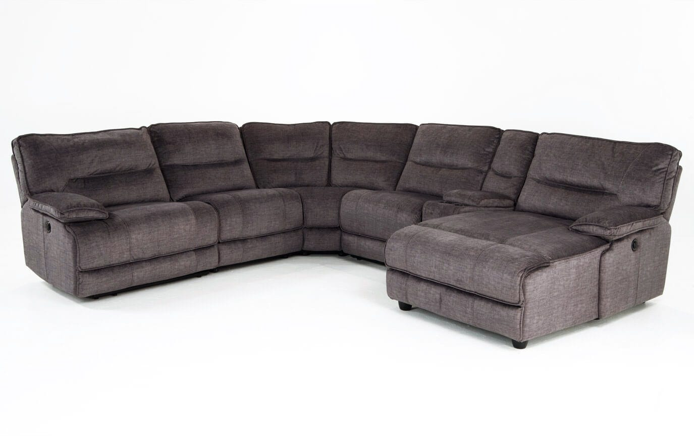 electric recliner sofa not working black reclining and loveseat pacifica 6 piece power left arm facing sectional bobs com gallery slider image 1