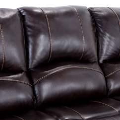 Bennett Leather Sofa Furniture Reviews 88 Quot Power Reclining Bob 39s Discount