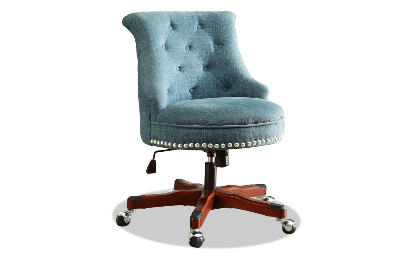 aqua desk chair feeder accessories sabrina office bobs com gallery slider image 1