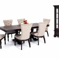 Upholstered Chairs For Dining Room Kids Chair With Name Riverdale 8 Piece Set Curio Bobs Com Gallery Slider Image 1