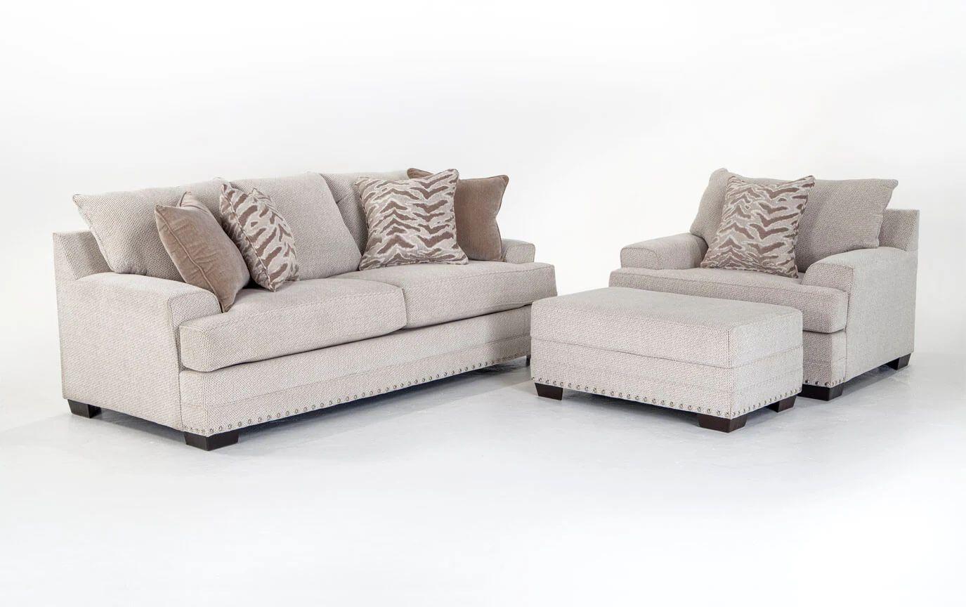 large sofa chair glitz sofa chair ottoman bob s furniture