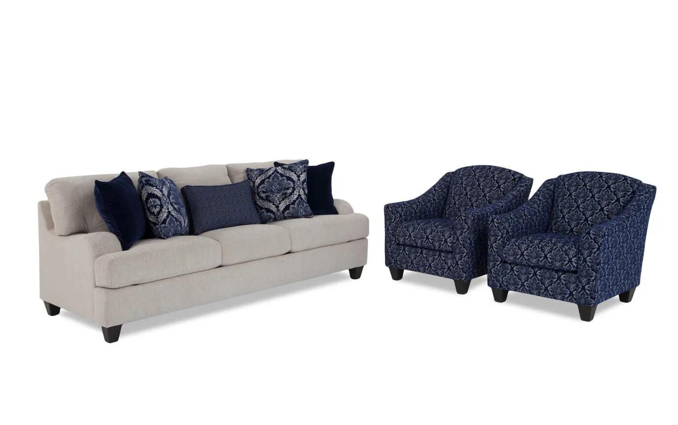 accent sofa pro seda hazienda hamptons and chair set bobs com gallery slider image 1