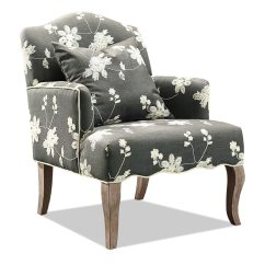 Floral Arm Chair Studded Dining Room Chairs Uk Bob 39s Discount Furniture