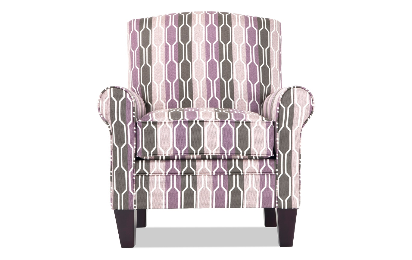 Purple Accent Chair Tory Lilac Accent Chair