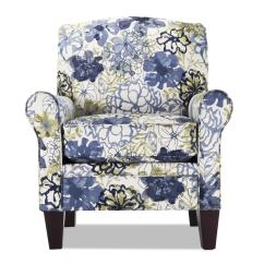 Accent Chair Blue Comfortable Sofas And Chairs Elsa Floral Bob S Discount Furniture
