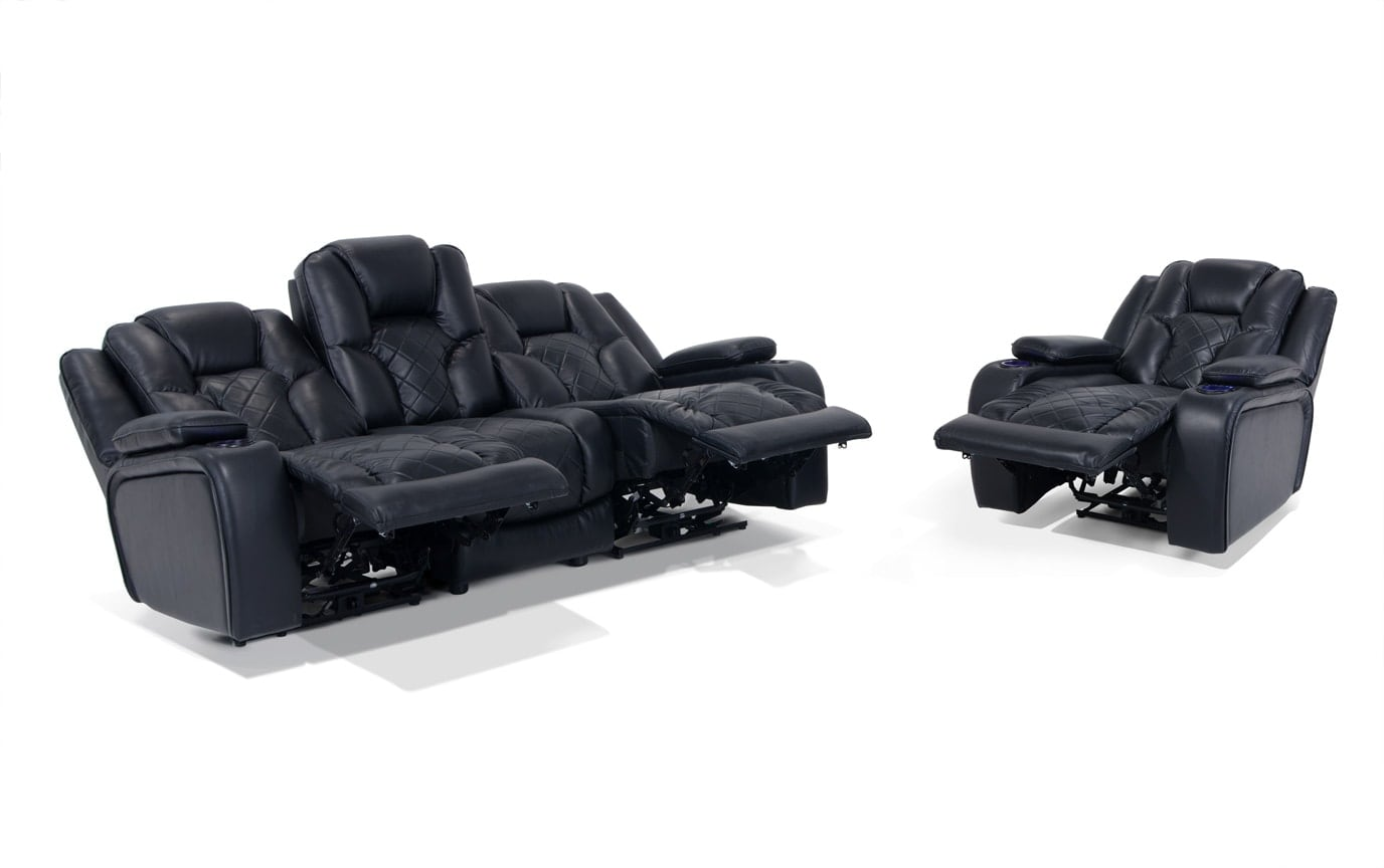 gladiator power dual reclining sofa reviews traditional beds and recliner bob