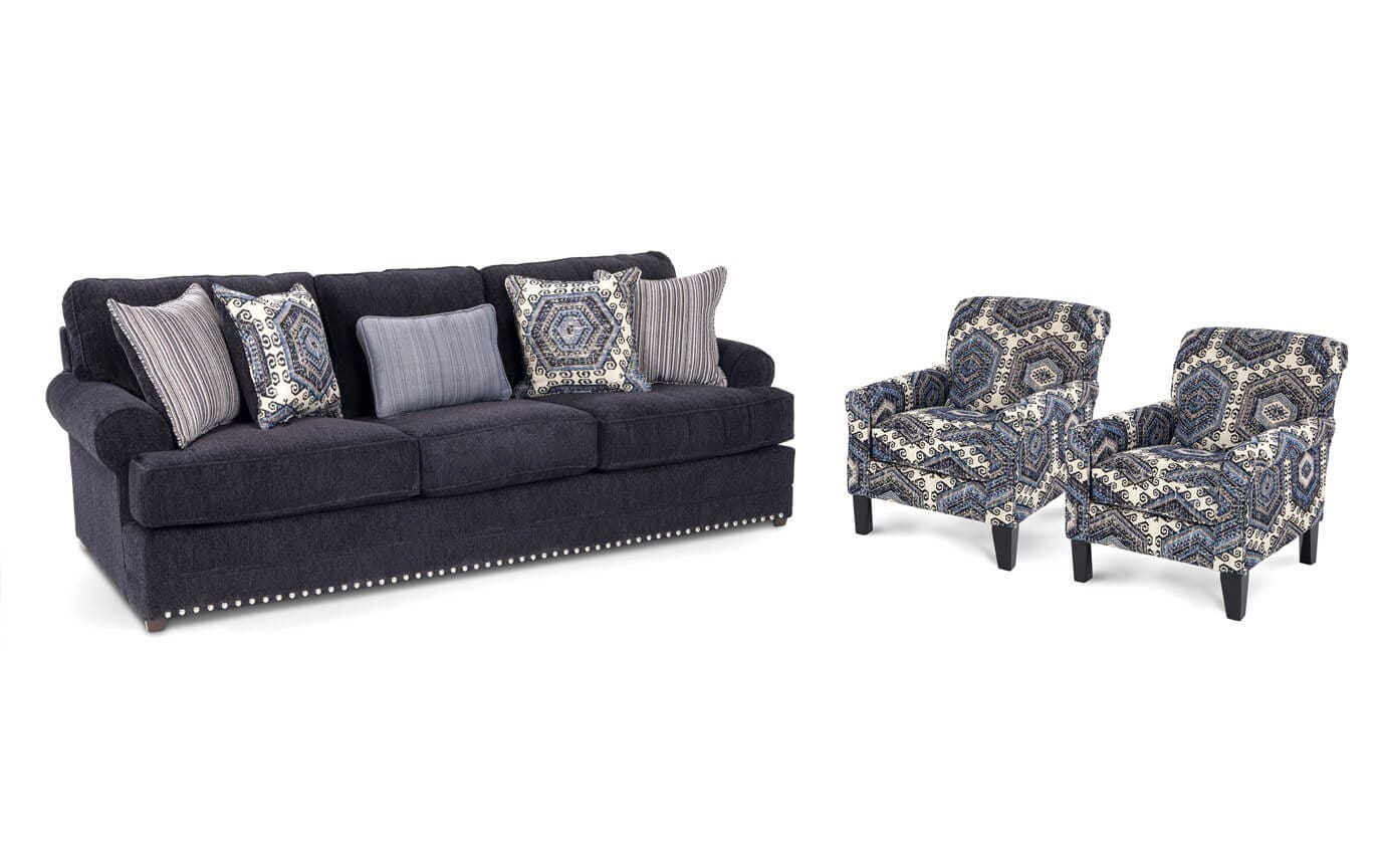 2 accent chairs and table set outdoor folding argos dakota sofa bobs com gallery slider image 1
