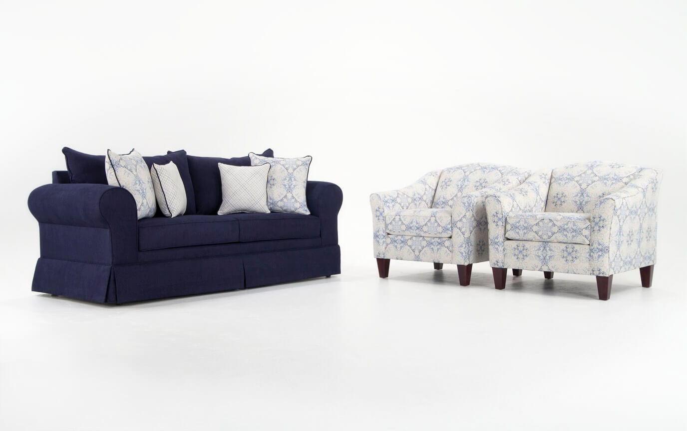 2 accent chairs and table set bosu ball chair oasis sofa bobs com gallery slider image