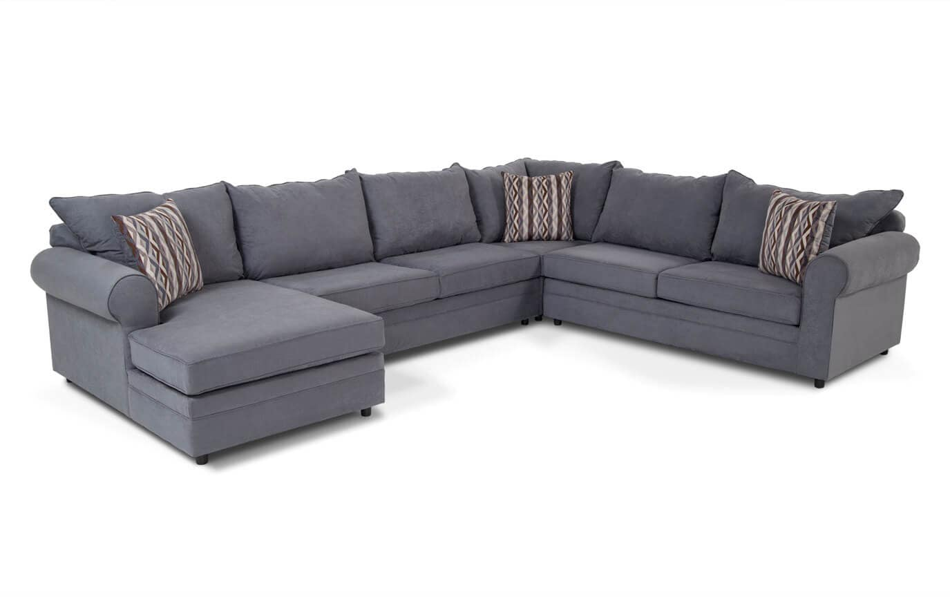 right arm facing sofa left chaise cotton covers uk baci living room
