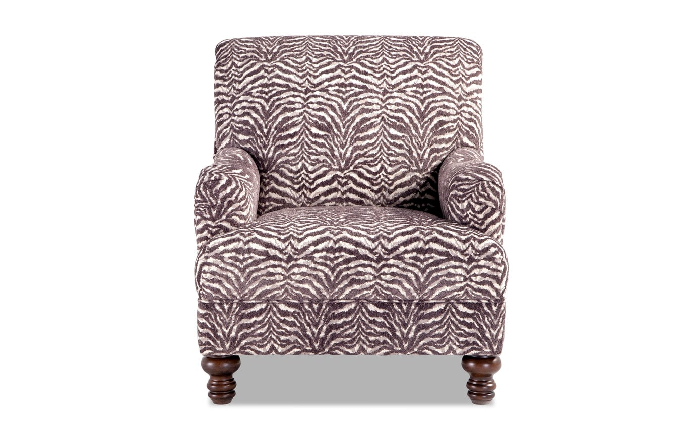 Zebra Accent Chair Cora Zebra Accent Chair Bobs