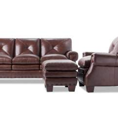 Large Leather Chair With Ottoman Baby Bath Kennedy Sofa Bobs Com Gallery Slider Image 1