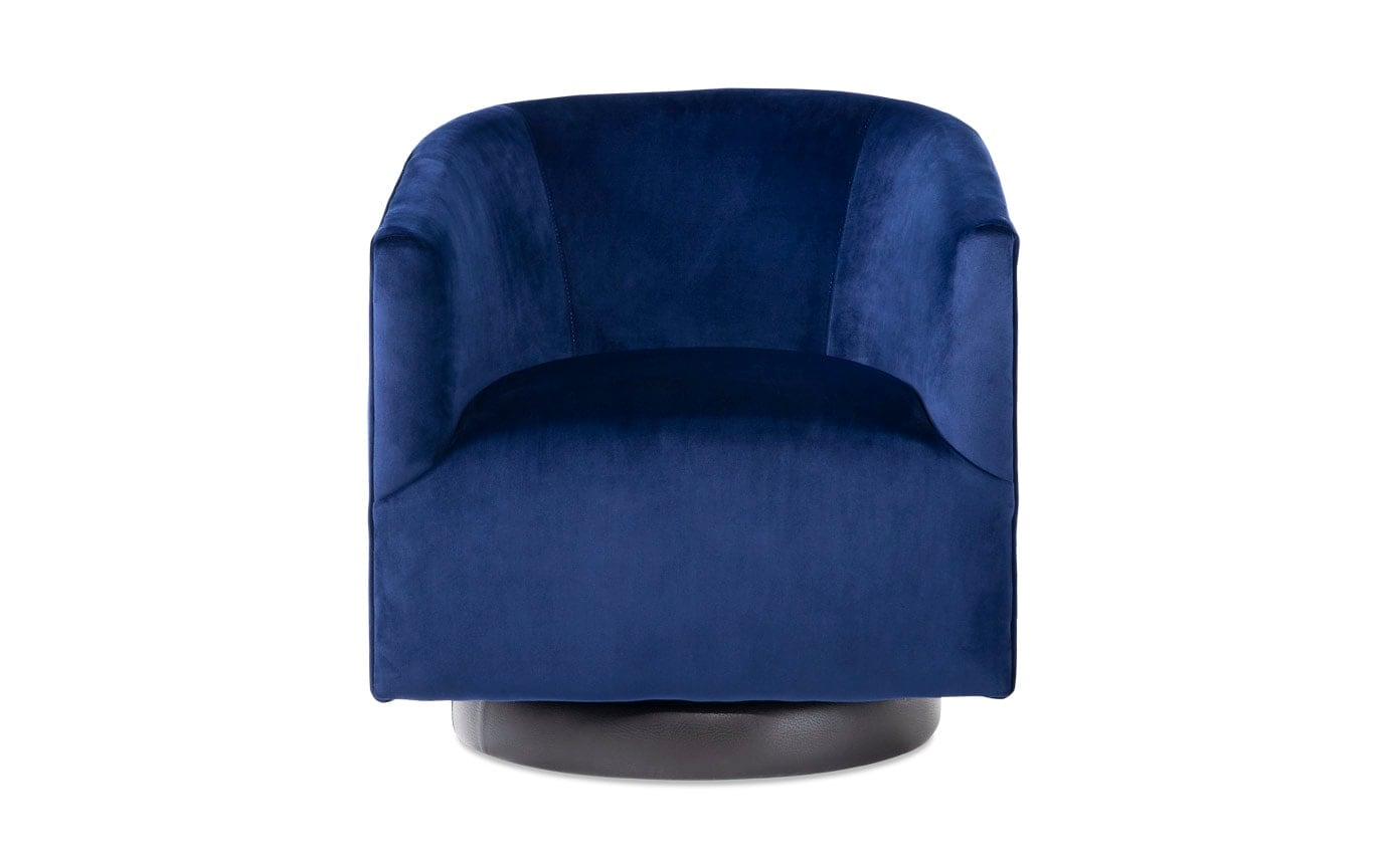 swivel chair in spanish big and tall outdoor folding chairs keaton bobs com gallery slider image 1