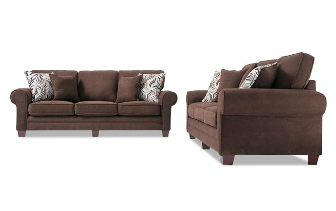couch and chair set high chairs at target living room sets bobs com gracie sofa
