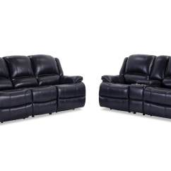 Cheap Sectional Sofas Phoenix Norwalk Leather Sofa Power Reclining Black And Console