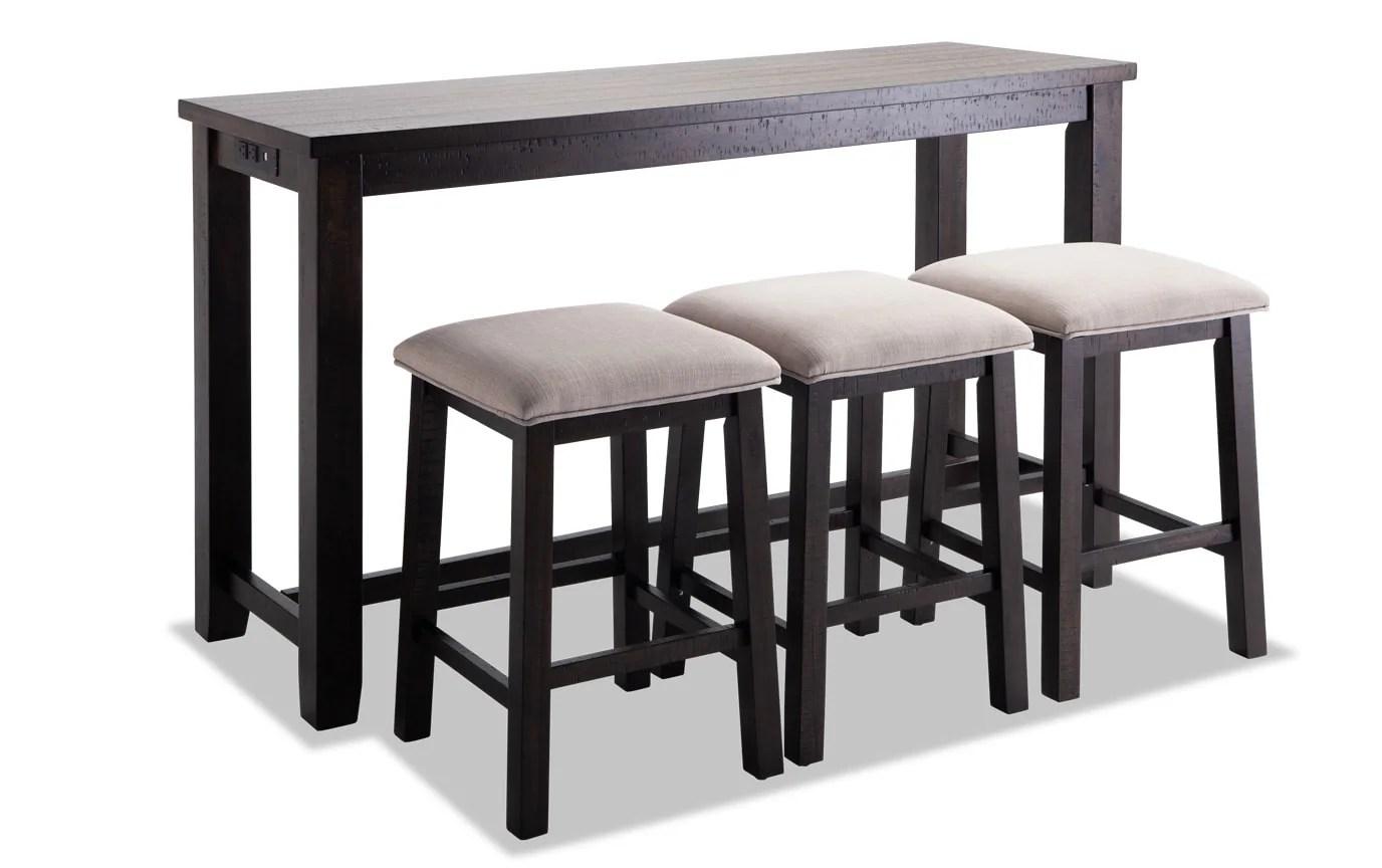 Arcadia 4 Piece Bar Table Set