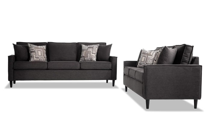 living room discount furniture how to make a small look bigger sets bobs com jamie sofa set