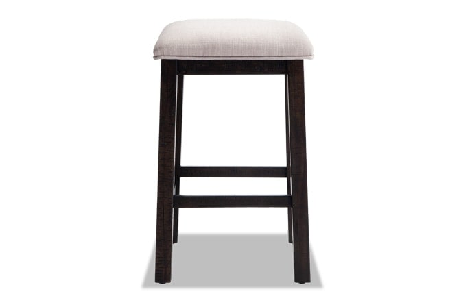 chair stool black wrought iron table and chairs bar stools bobs com arcadia upholstered
