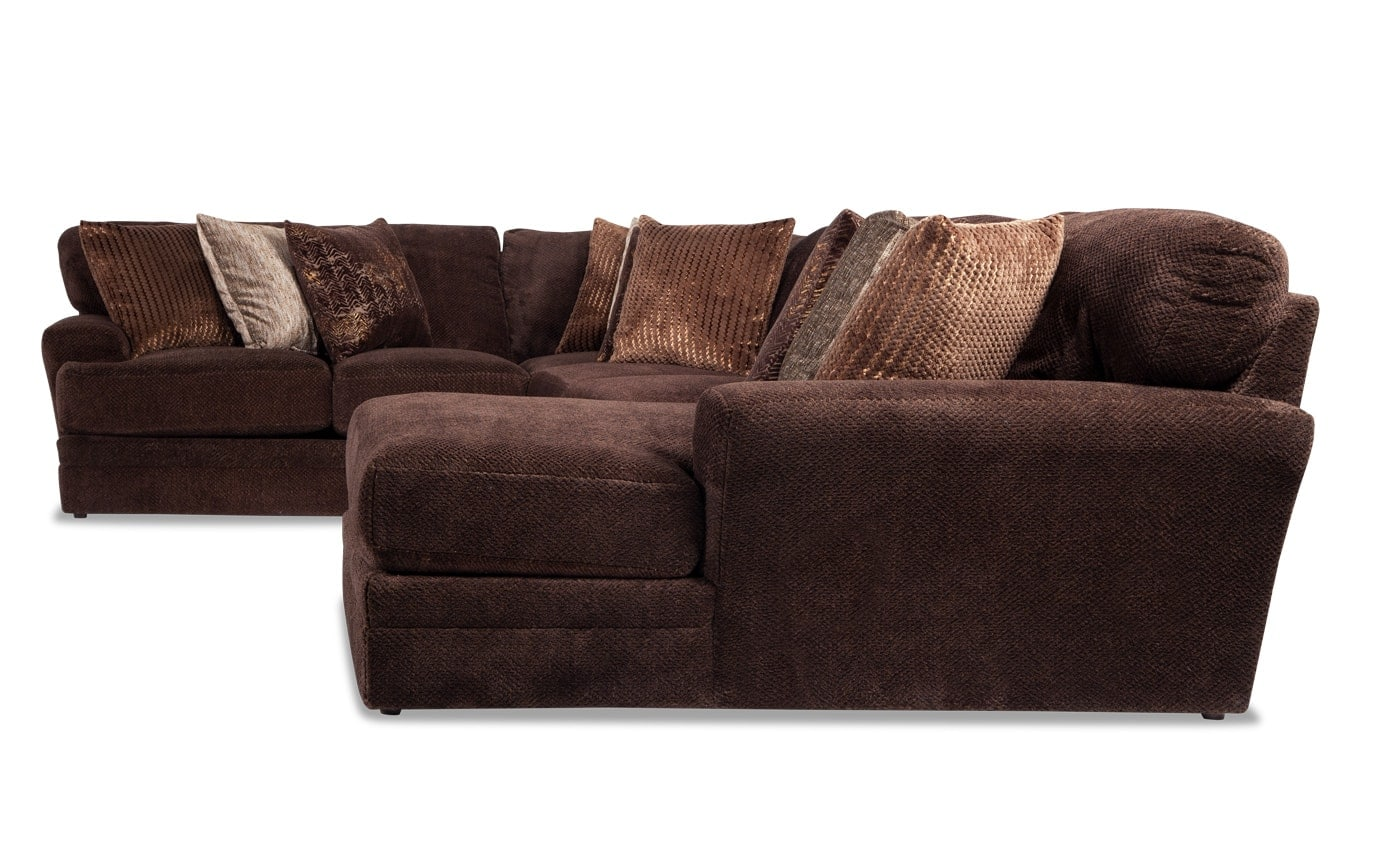 sean brown sofa table rex 4 piece reclining sectional with armless unit by la z boy sensation left arm facing bobs