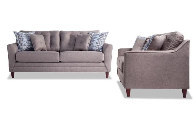 couch and chair set black adirondack covers living room sets bobs com jaxon sofa