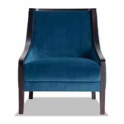 Teal Club Chair Wicker Hammock Accent Chairs Bobs Com Pate