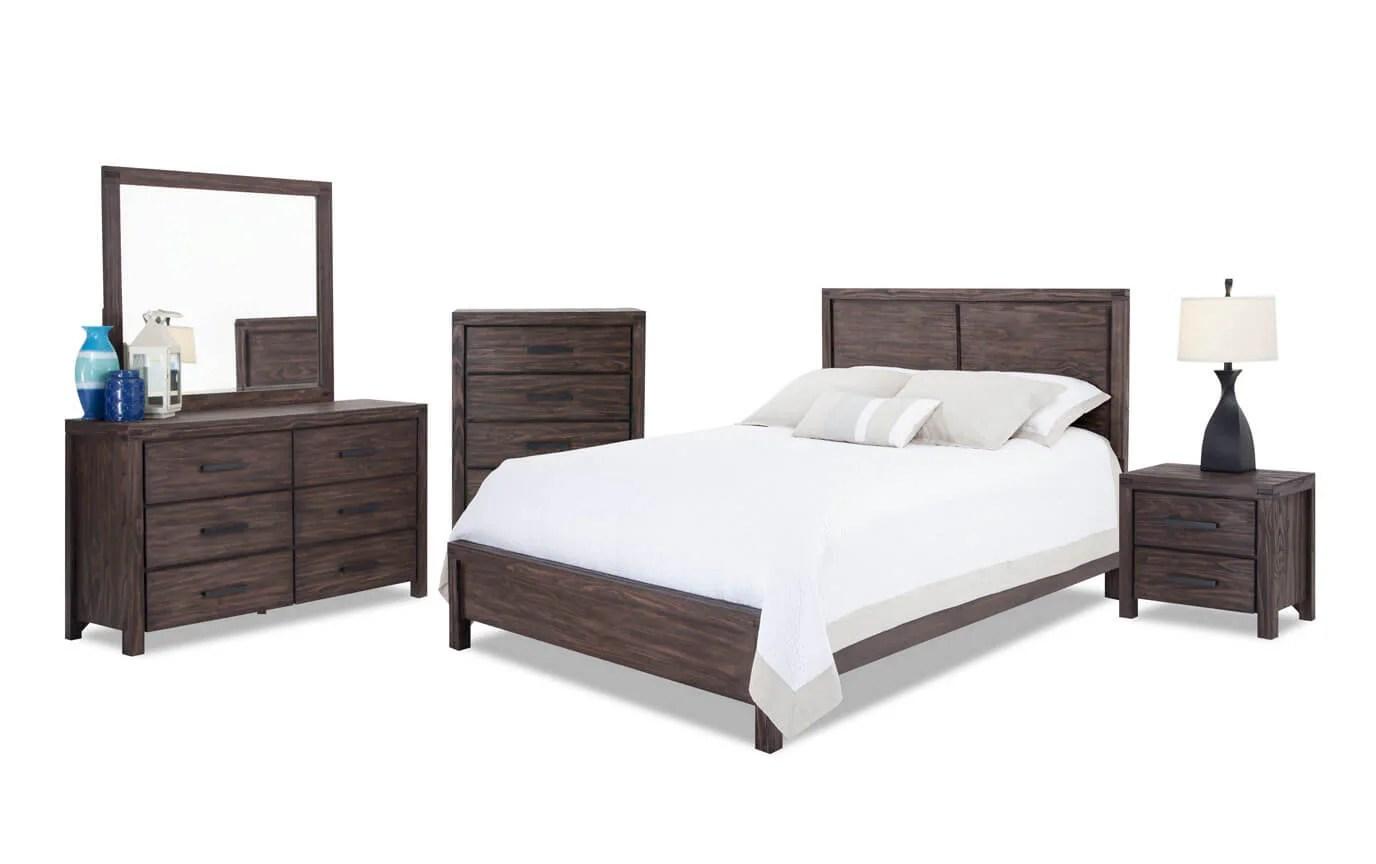 Austin Bedroom Set  Bobscom