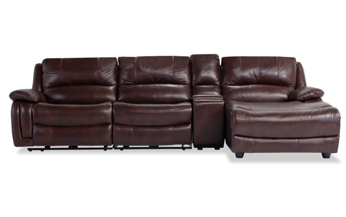 72 lancaster leather sofa reclining with 4 seats sofas sectionals bobs com titan piece power left arm facing sectional