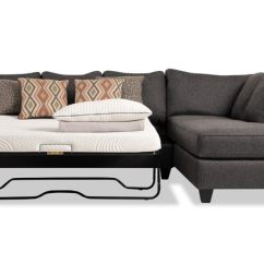 Sleeper Sofas Chicago Il Simmons Carly Double Sofa Bed With Beautyrest Mattress Sectionals Bobs Com Capri Left Arm Facing Full Bob O Pedic Sectional