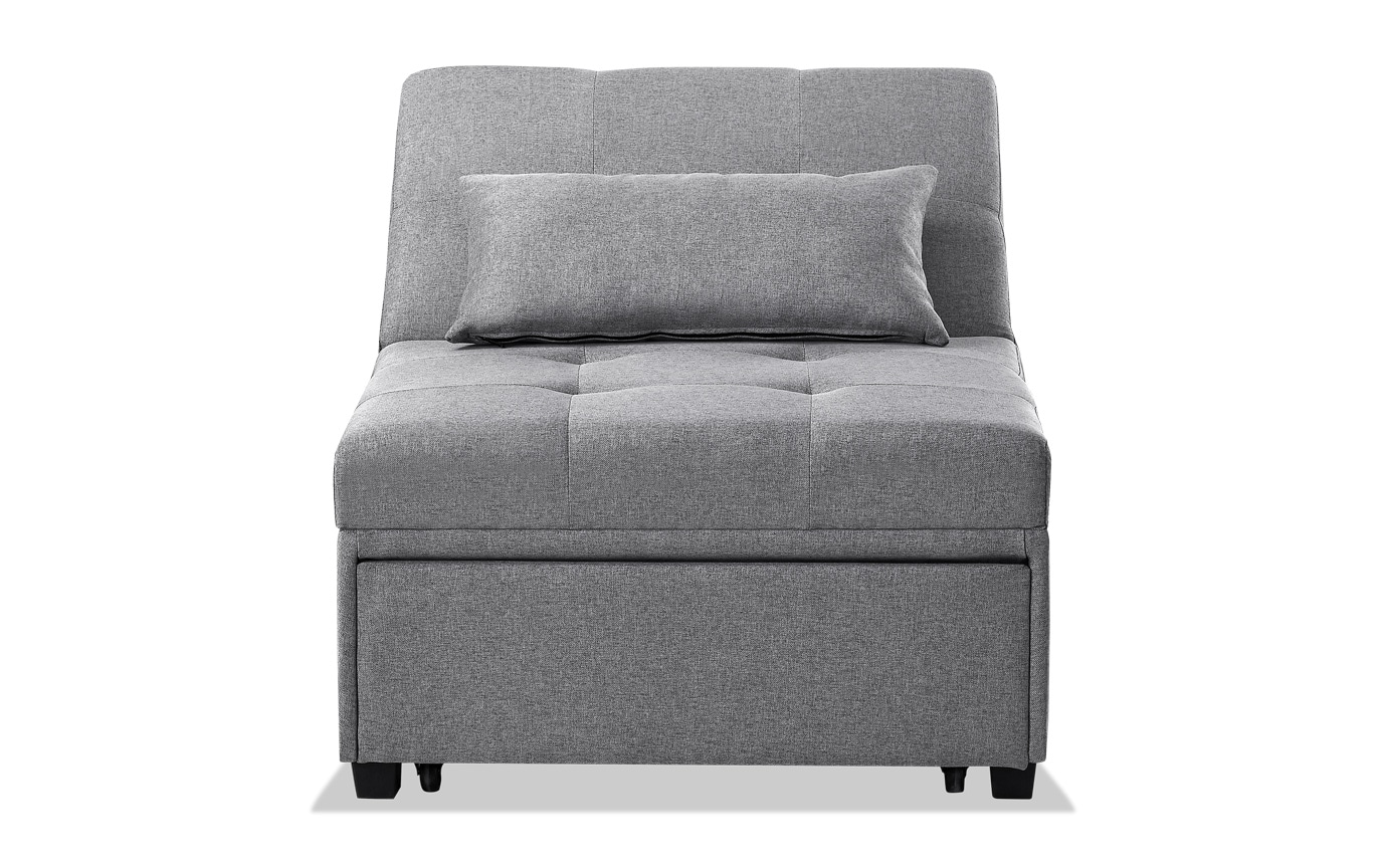 Evolution Chair Evolution Gray Bed