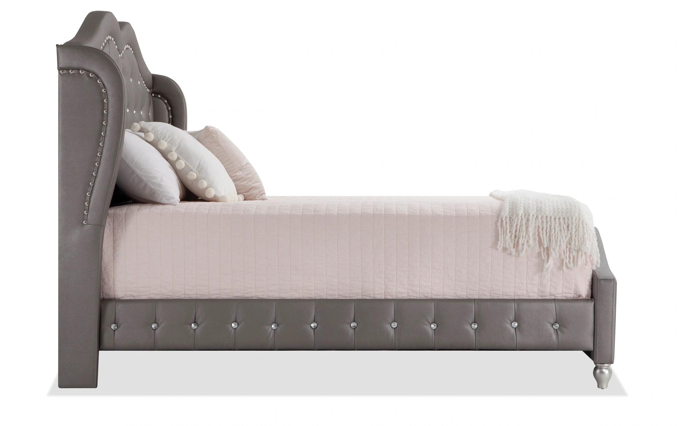 diva ii queen upholstered bed