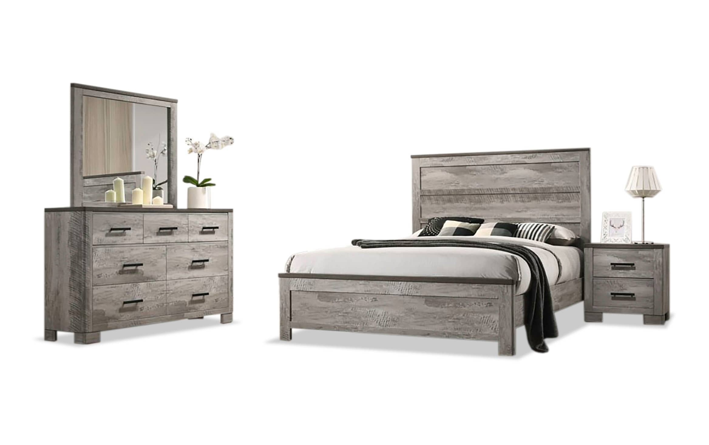 Alex Queen Bedroom Set Outlet Bobs Com