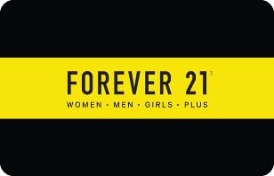 buy forever 21 egift
