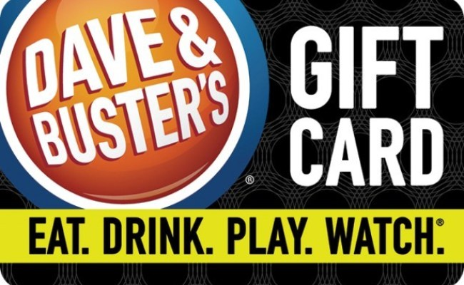 Dave Buster S Gift Card Kroger Gift Cards