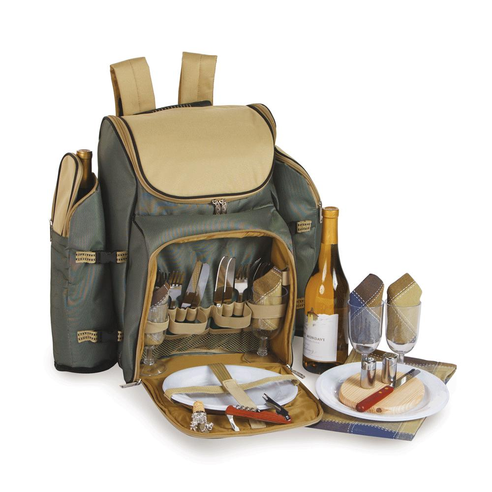 Picnic Plus Tandoor 4 Person Backpack - Sage