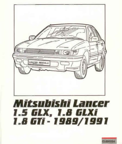 Owner's Repair Guide for Mitsubishi Lancer 1.5 GLX, 1.8