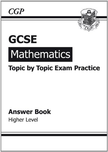 GCSE Maths Topic-based Exam Practice Answers (for Workbook