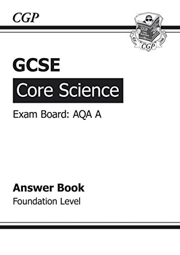 GCSE Core Science AQA A Answers (for Workbook
