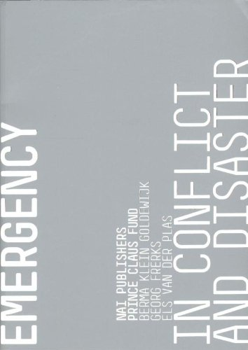 Cultural Emergency in Conflict and Disaster By Edited by