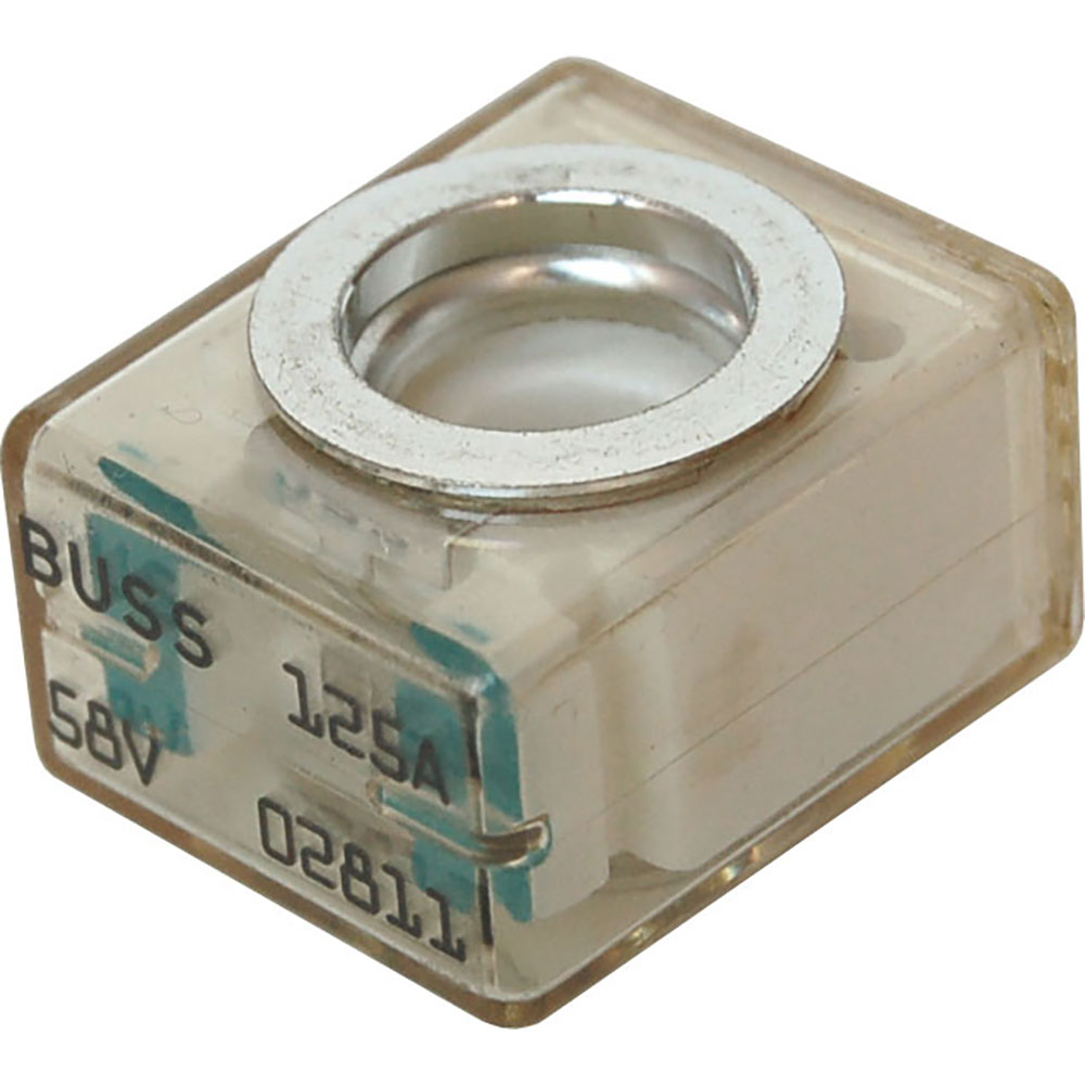 medium resolution of blue sea 5184 buss 125a 58v dc fuse terminal for use with terminal fuse block