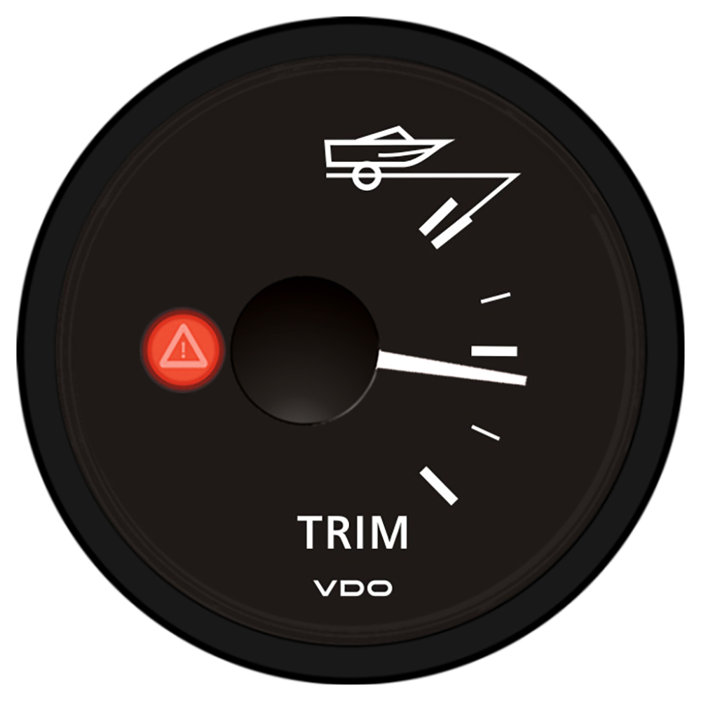 hight resolution of details about vdo viewline onyx trim gauge 12 24v mercury volvo penta a2c53417260 s