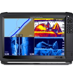 lowrance hds 12 carbon mfd with c map insight no transducer 000 13686 001  [ 1000 x 1000 Pixel ]