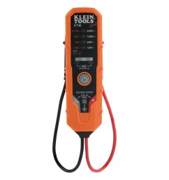 details about klein tools electronic ac dc voltage tester et40  [ 1000 x 1000 Pixel ]