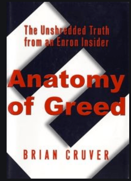 Book Review Anatomy Of Greed Brian Cruver Product In Heels