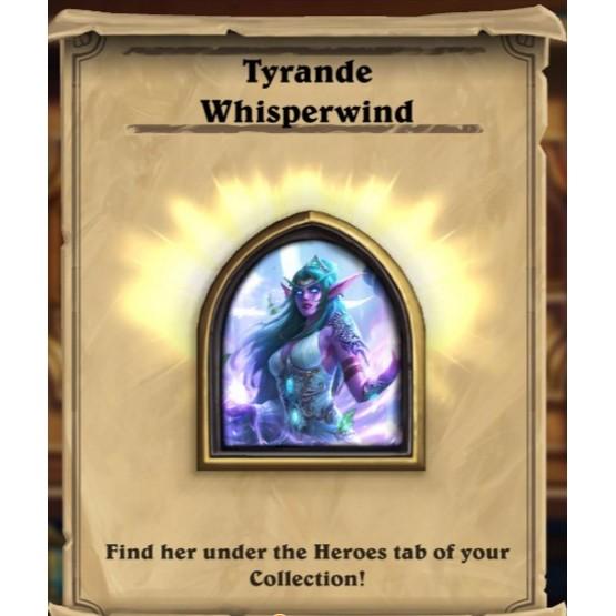 tyrande whisperwind hearthstone portrait