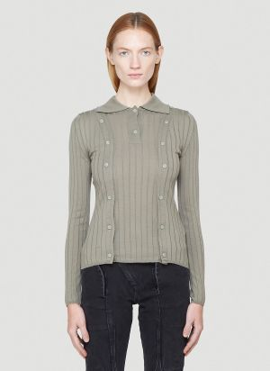 Jacquemus La Maille Baho Top in Green